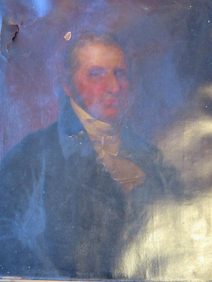 O/C Portrait of a gentleman in original lemon gold - 3