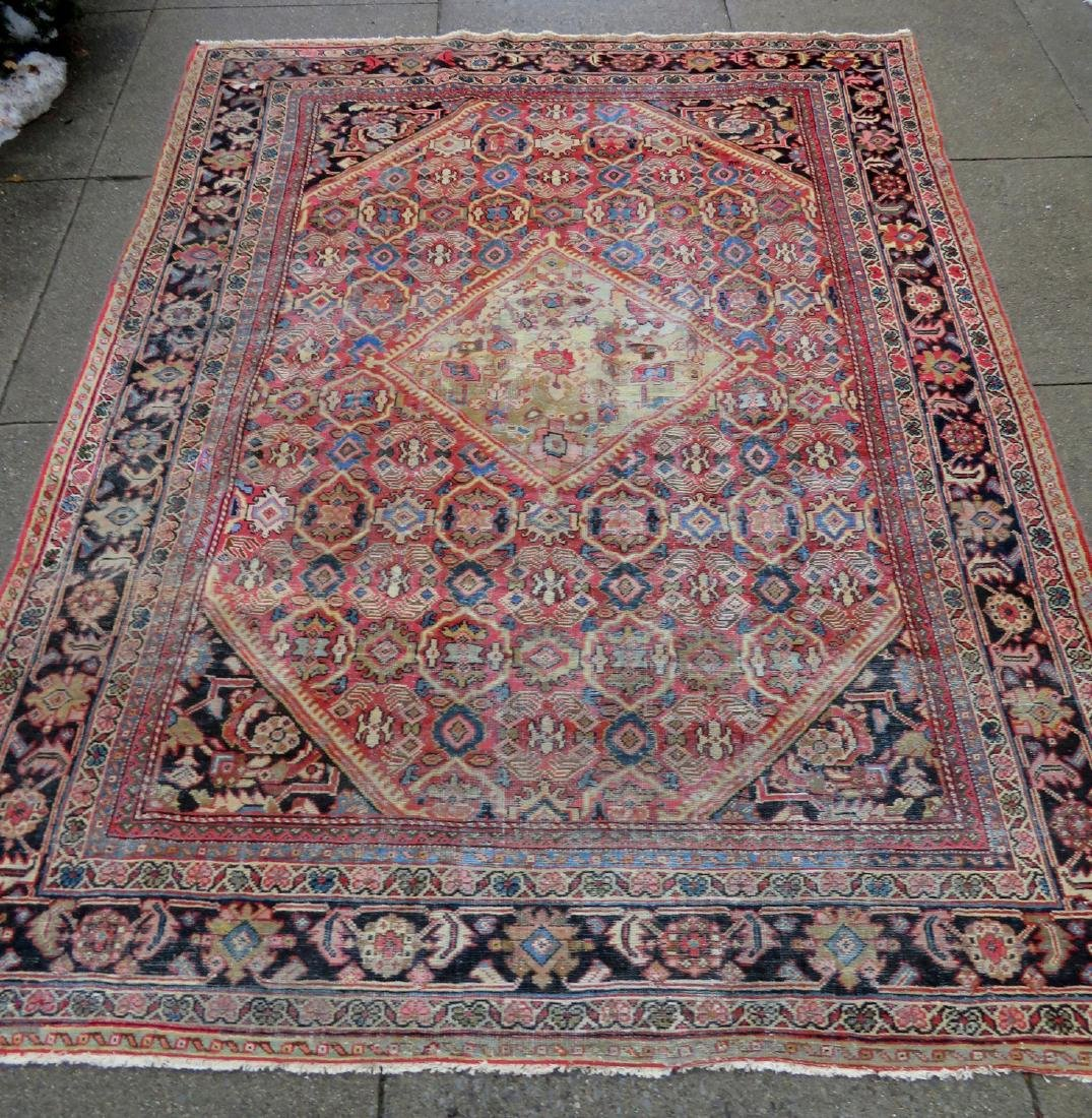 Room size oriental rug. Some use wear, but overall good