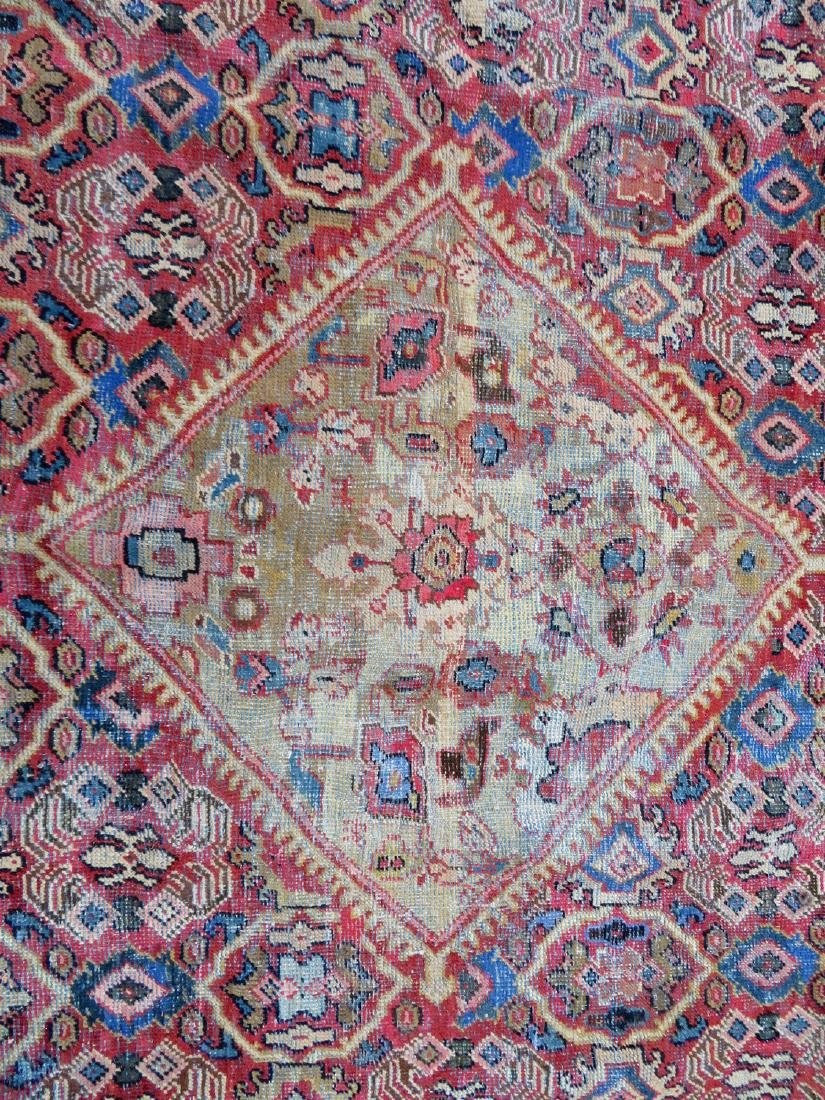 Room size oriental rug. Some use wear, but overall good - 2