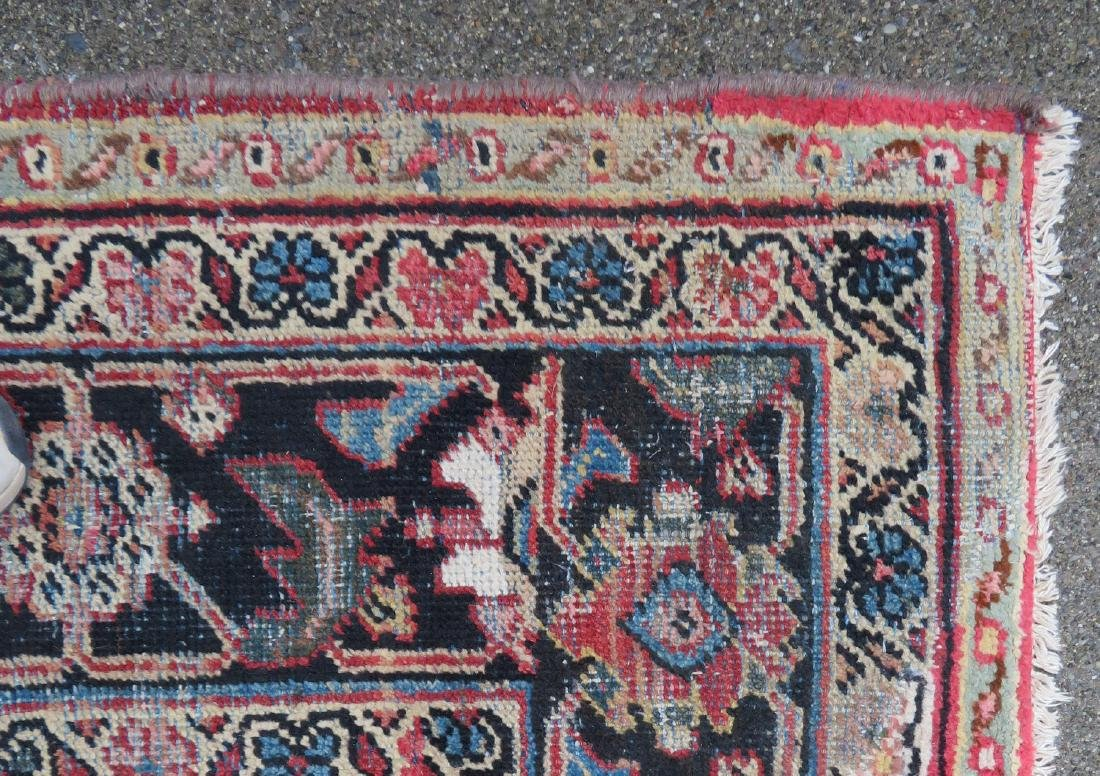 Room size oriental rug. Some use wear, but overall good - 3