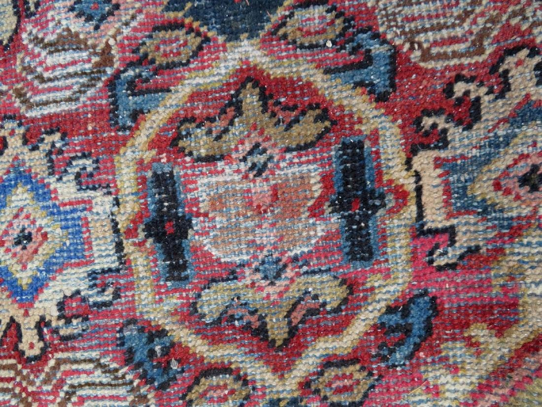 Room size oriental rug. Some use wear, but overall good - 4
