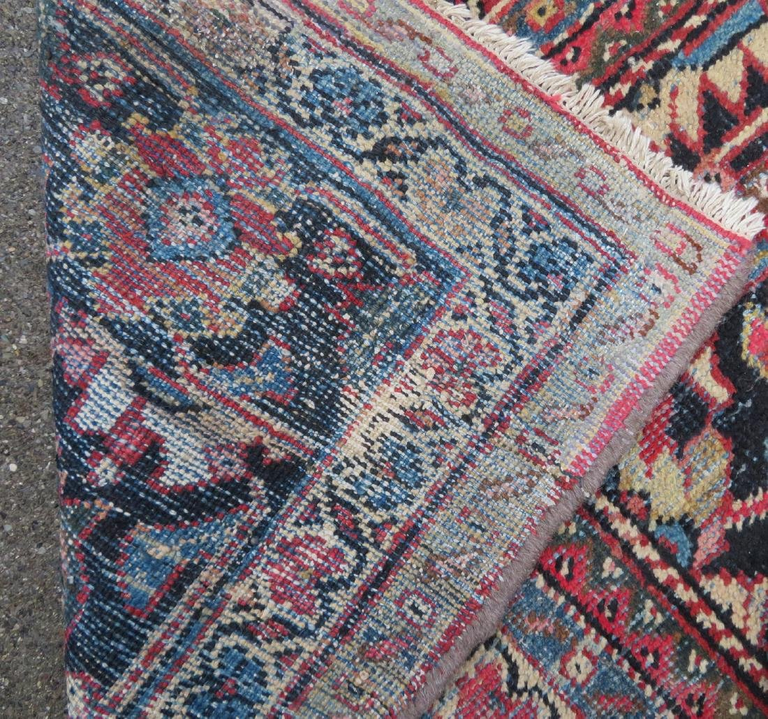 Room size oriental rug. Some use wear, but overall good - 5