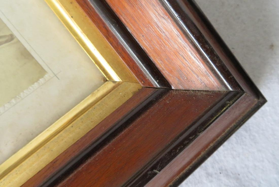 Three beautiful Victorian picture frames, all with gold - 6