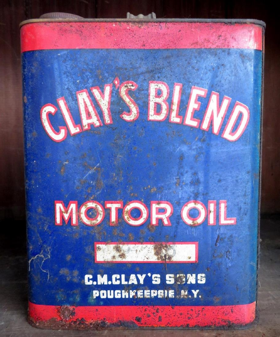 Large lot of advertising tins including Clay's Blend - 2