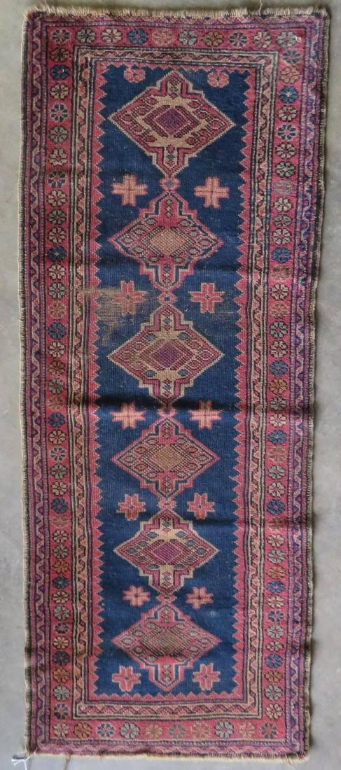 Small oriental runner, very good condition. Early 20th