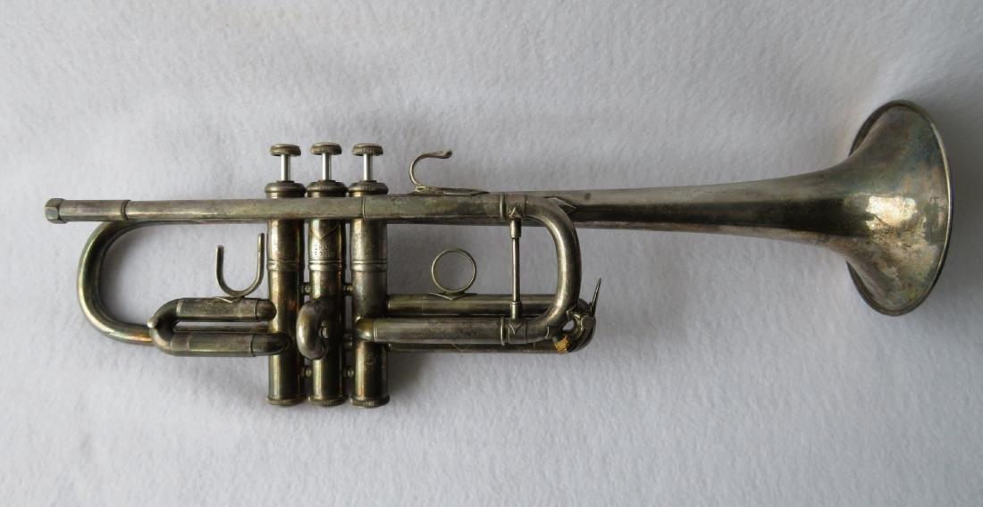 Trumpet - Vincent Bach Corporation, Elkhart Ind,