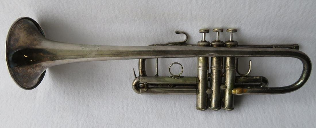 Trumpet - Vincent Bach Corporation, Elkhart Ind, - 3