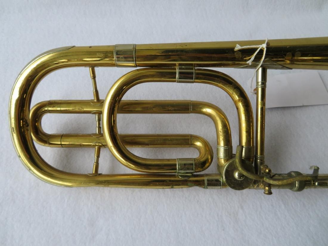 Bass Trombone - C.G. Conn Ltd - Elkhart Ind.,  Model - 3
