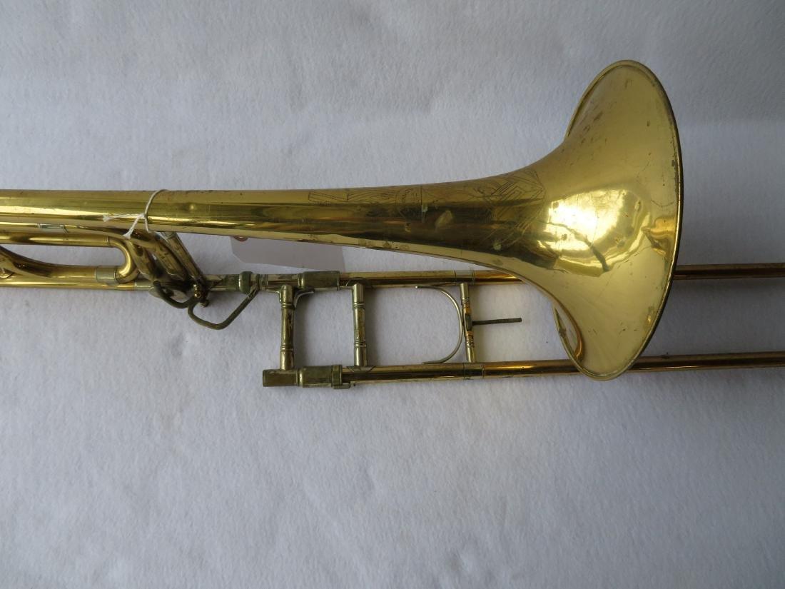 Bass Trombone - C.G. Conn Ltd - Elkhart Ind.,  Model - 4