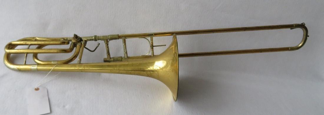 Bass Trombone - C.G. Conn Ltd - Elkhart Ind.,  Model - 5