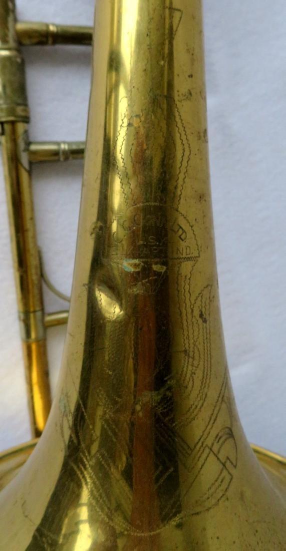 Bass Trombone - C.G. Conn Ltd - Elkhart Ind.,  Model - 7