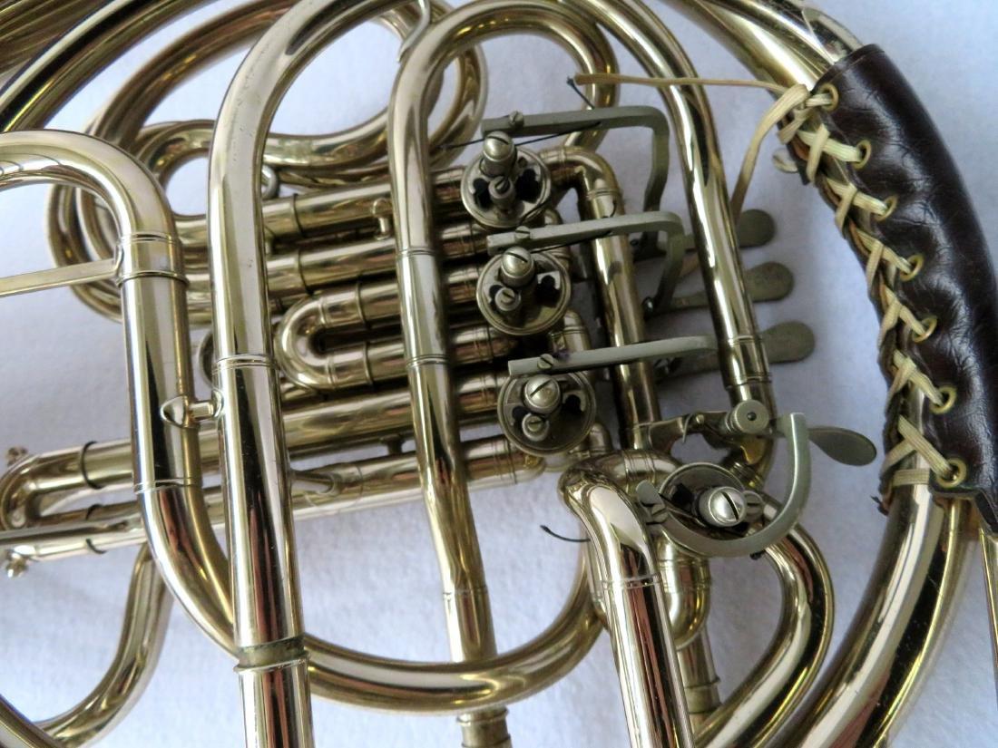 French horn -Signed C.G. Conn Ltd, USA. - full double - 4