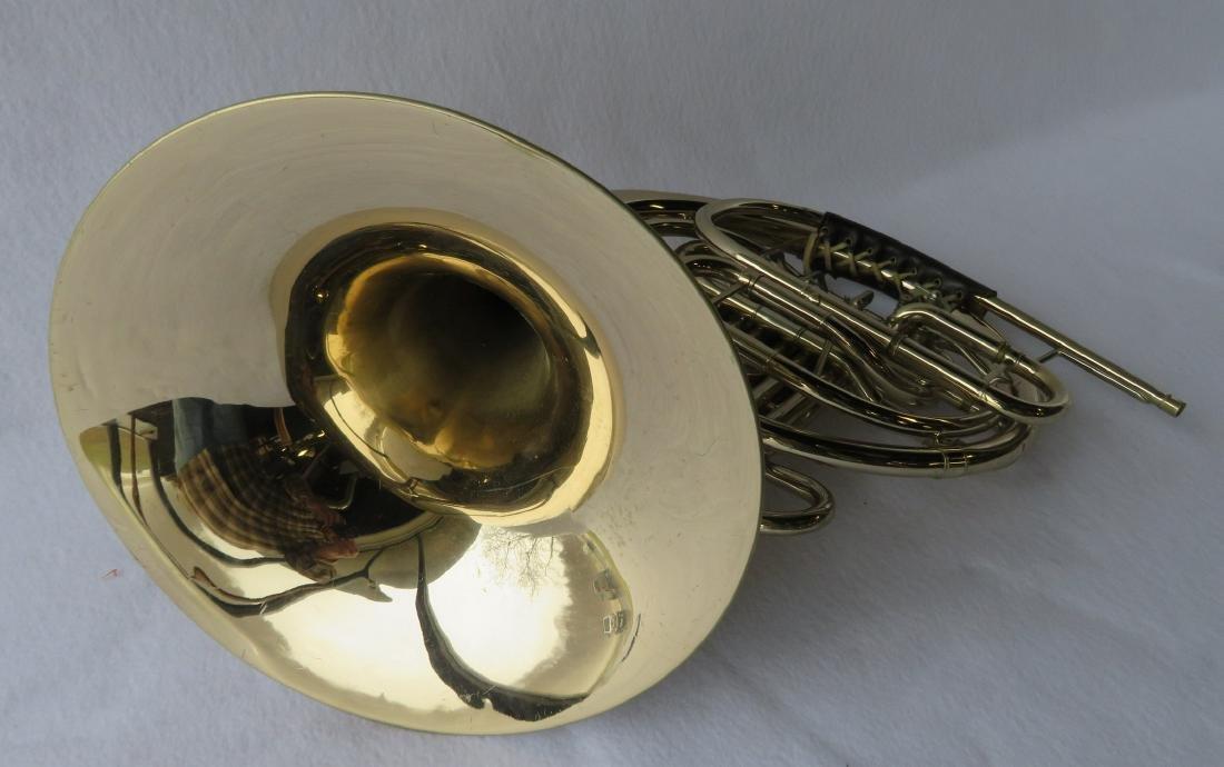 French horn -Signed C.G. Conn Ltd, USA. - full double - 5