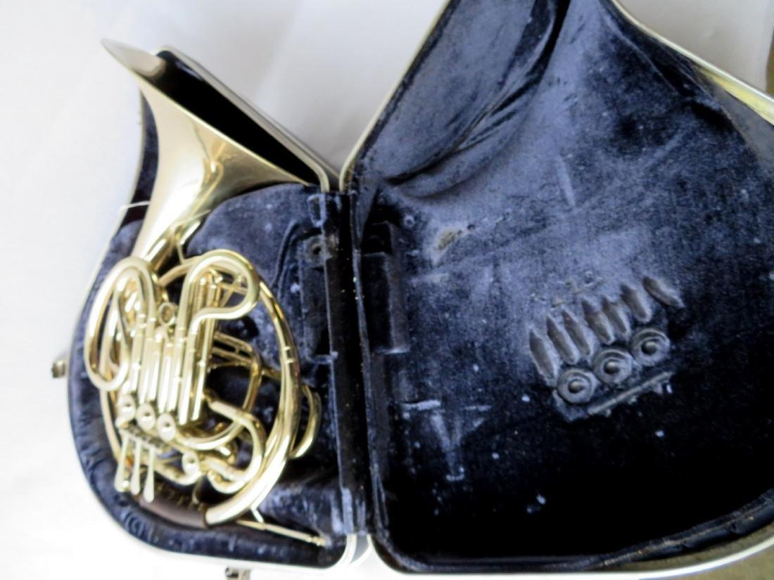 French horn -Signed C.G. Conn Ltd, USA. - full double - 7