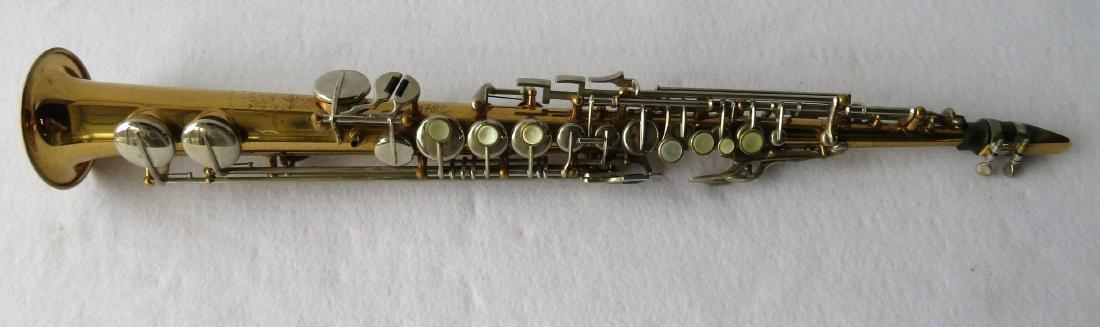 Soprano Saxophone - Borgani, Macerata Italy. Comes with