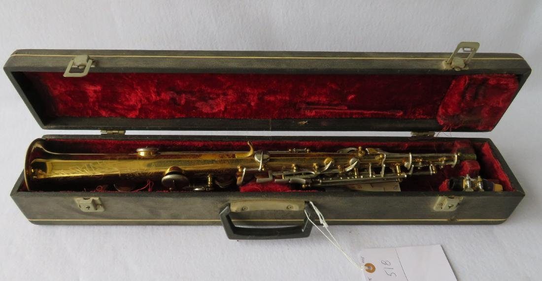 Soprano Saxophone - Borgani, Macerata Italy. Comes with - 7