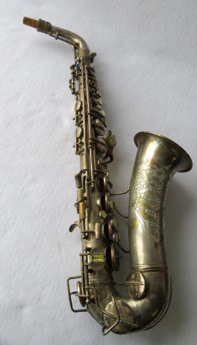 Alto Saxophone - signed C.G. Conn Ltd, Elkhart Ind -