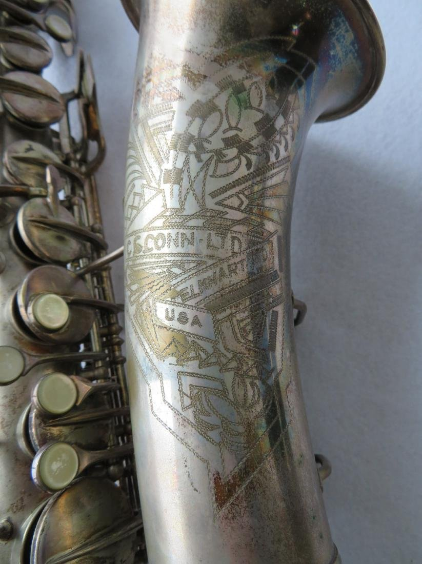 Alto Saxophone - signed C.G. Conn Ltd, Elkhart Ind - - 2