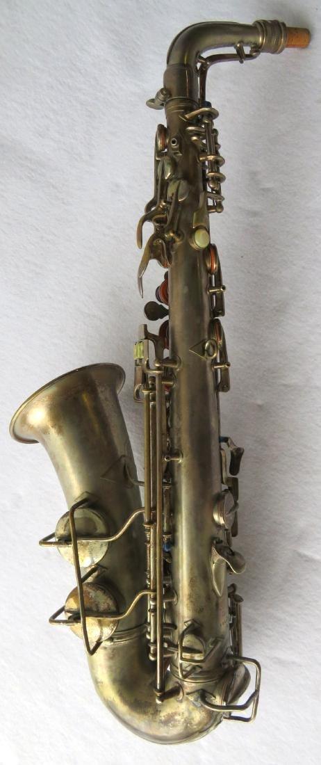 Alto Saxophone - signed C.G. Conn Ltd, Elkhart Ind - - 4