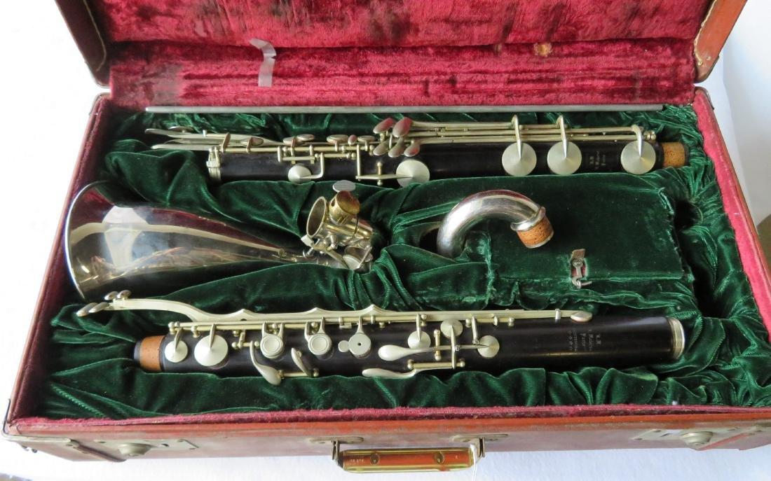 Bass Clarinet - Signed RM / R. Malerne / Paris / - 10