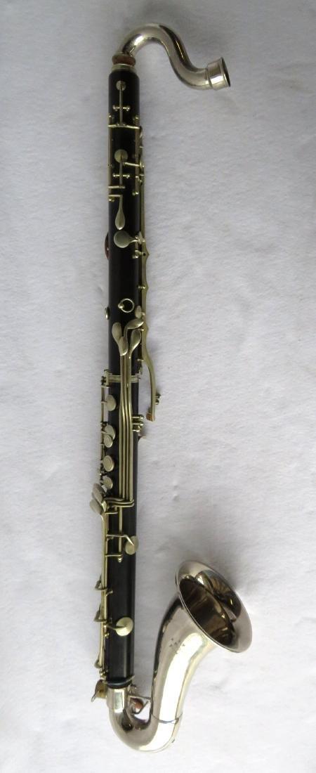 Bass Clarinet - Signed RM / R. Malerne / Paris / - 5