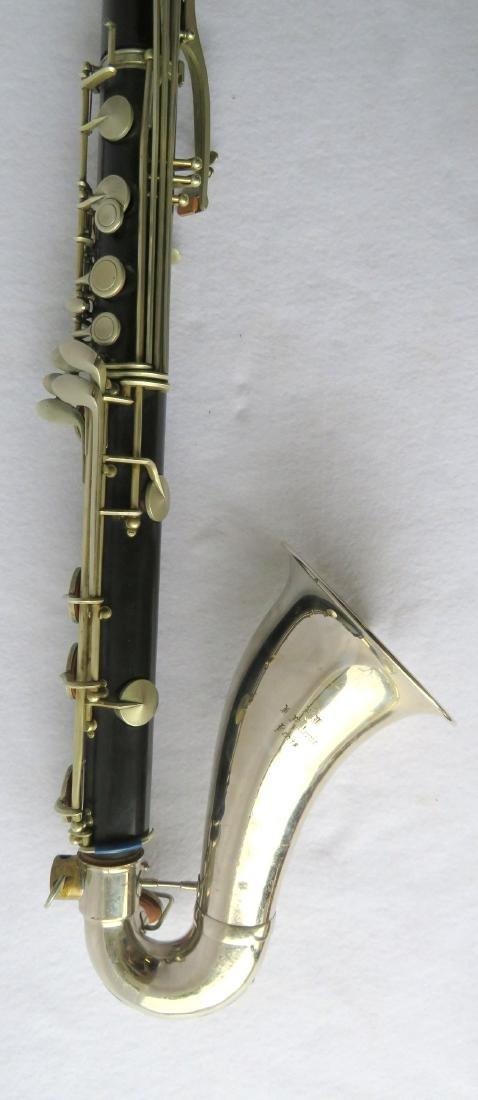 Bass Clarinet - Signed RM / R. Malerne / Paris / - 6