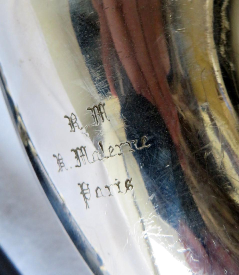 Bass Clarinet - Signed RM / R. Malerne / Paris / - 8