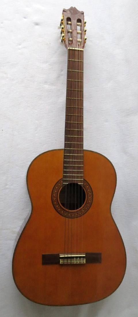 Classical Guitar - signed Salvador Ibanez, Model GA7.
