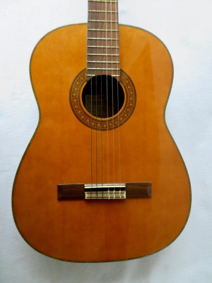 Classical Guitar - signed Salvador Ibanez, Model GA7. - 3