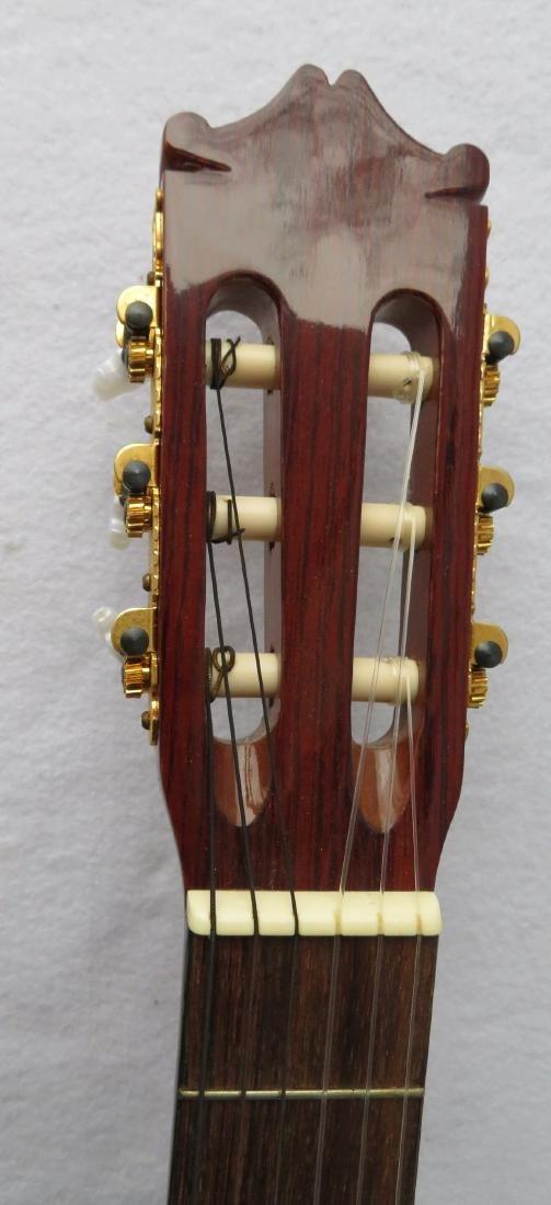 Classical Guitar - signed Salvador Ibanez, Model GA7. - 4