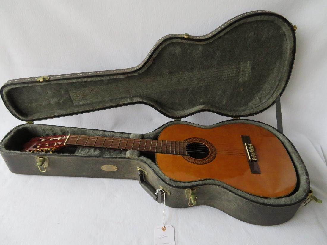 Classical Guitar - signed Salvador Ibanez, Model GA7. - 8