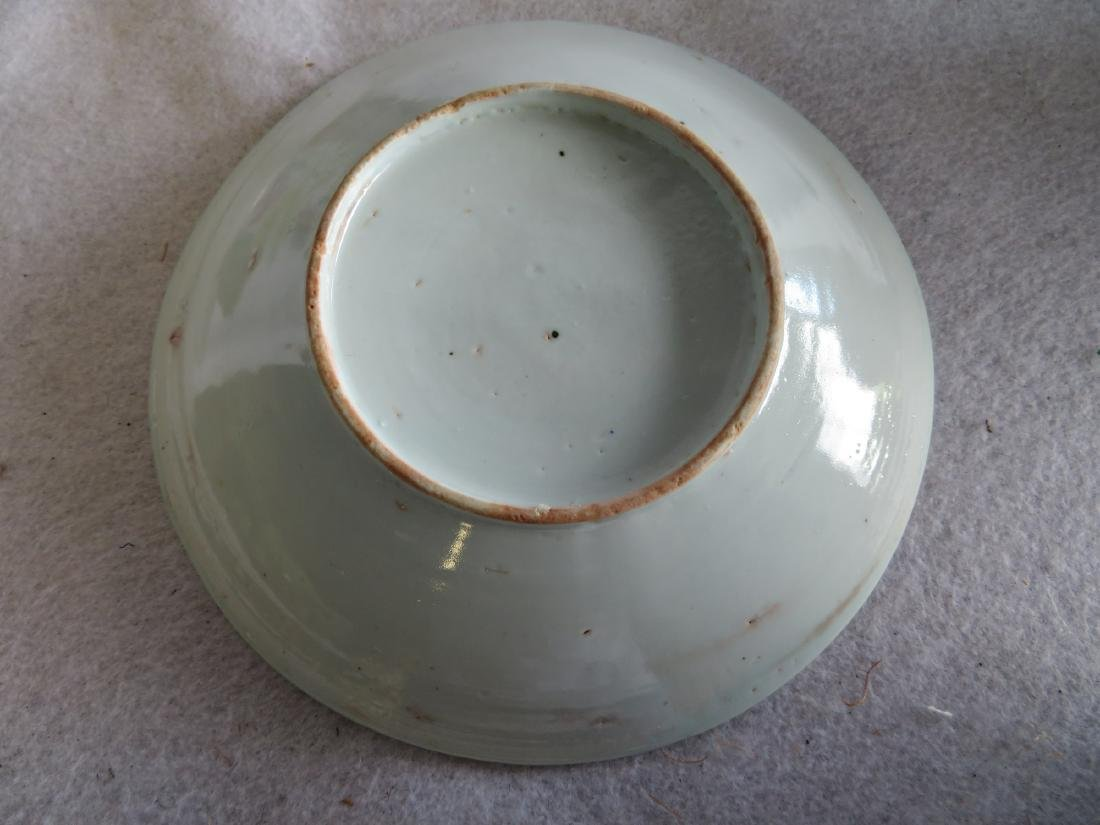 Grouping of 5 oriental porcelains including an Imari - 3
