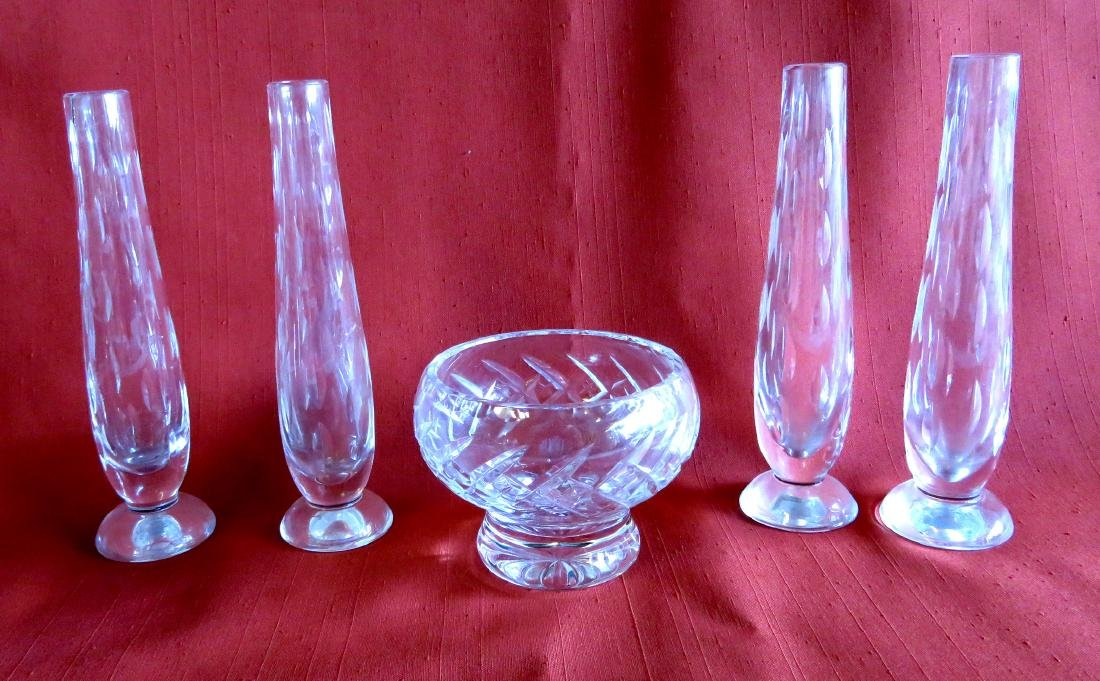 Grouping of 13 pieces of signed Waterford crystal - 3