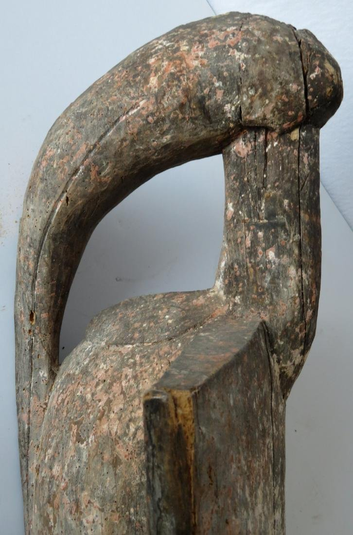 African oiseau bird sculpture from the Senufo people of - 4
