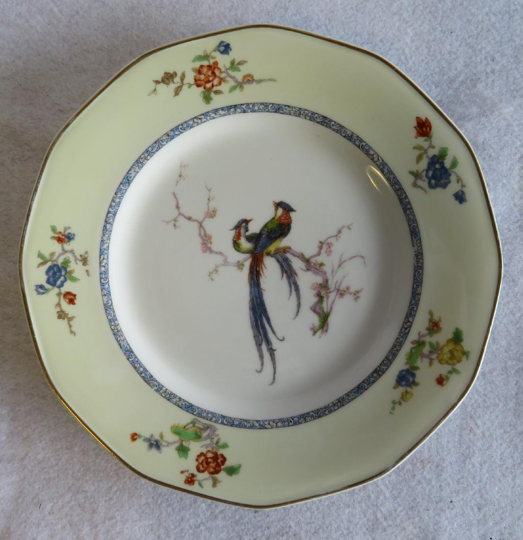"""Limoges china in """"Bird of Paradise"""" pattern china - 2"""