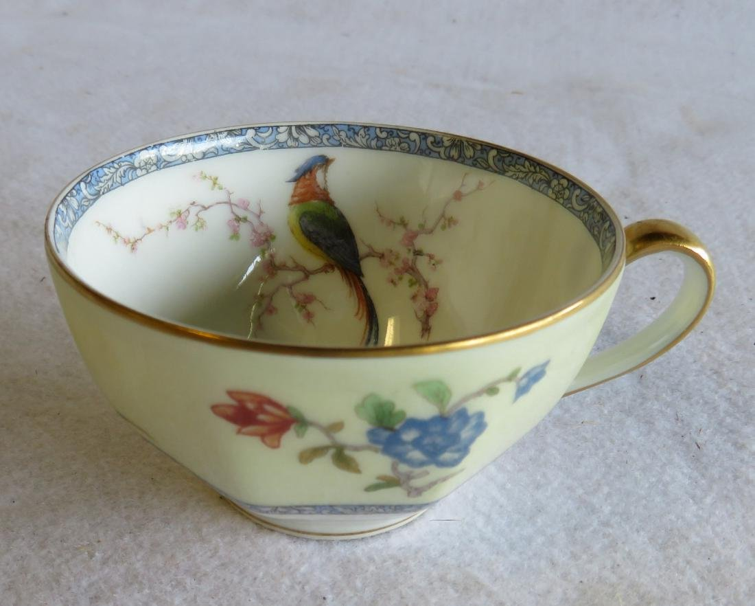 """Limoges china in """"Bird of Paradise"""" pattern china - 5"""
