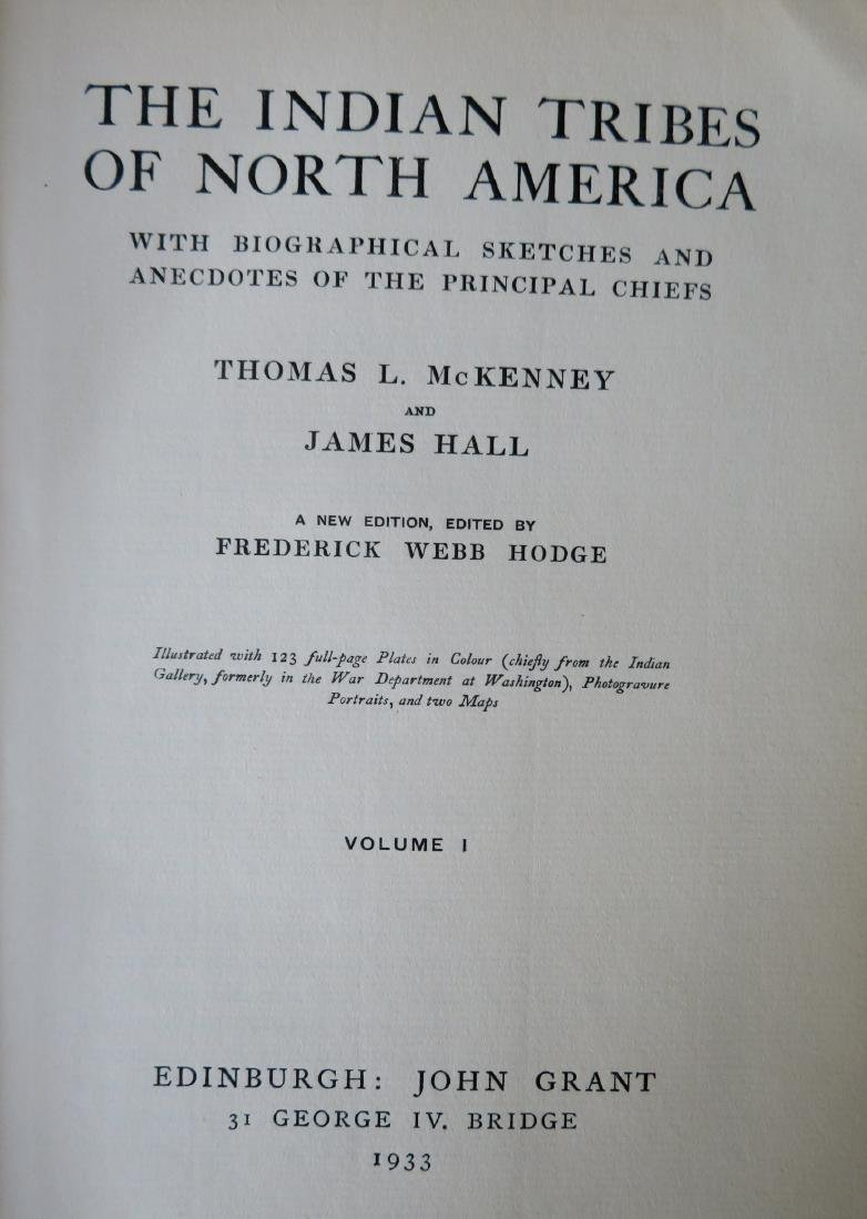 """History of the Indian Tribes of North America"", 3 - 5"