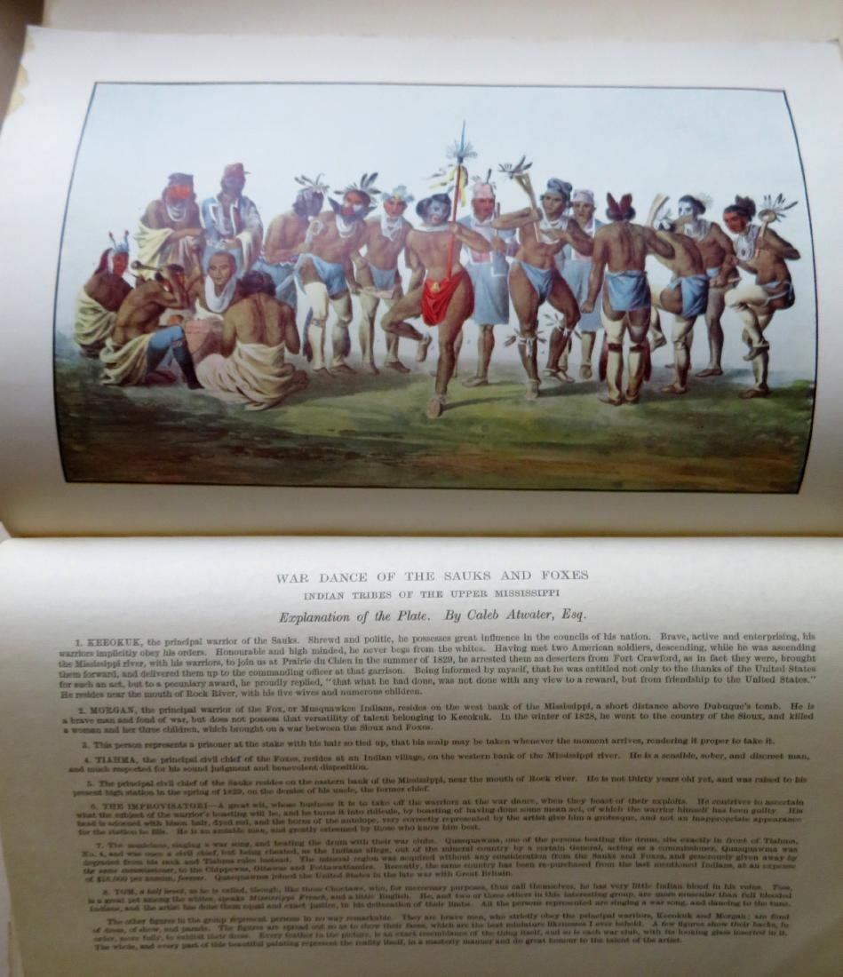 """History of the Indian Tribes of North America"", 3 - 6"