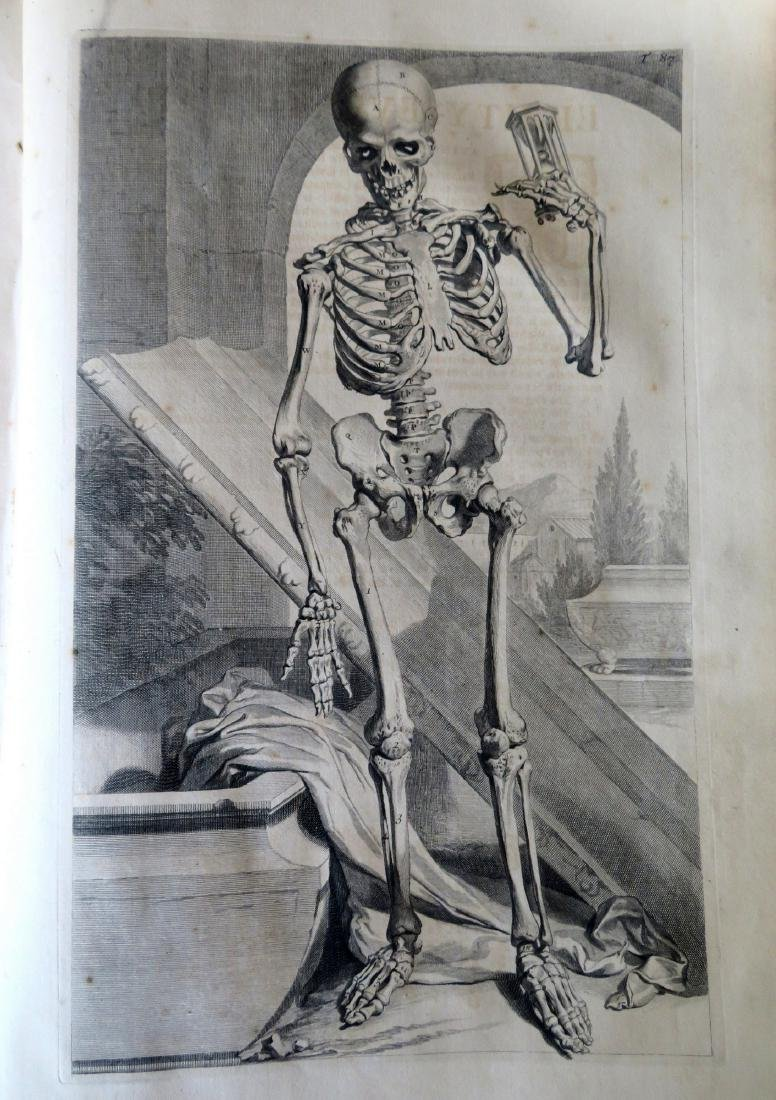 """Book by William Cowper (1666-1709 entitled """"THE ANATOMY - 2"""