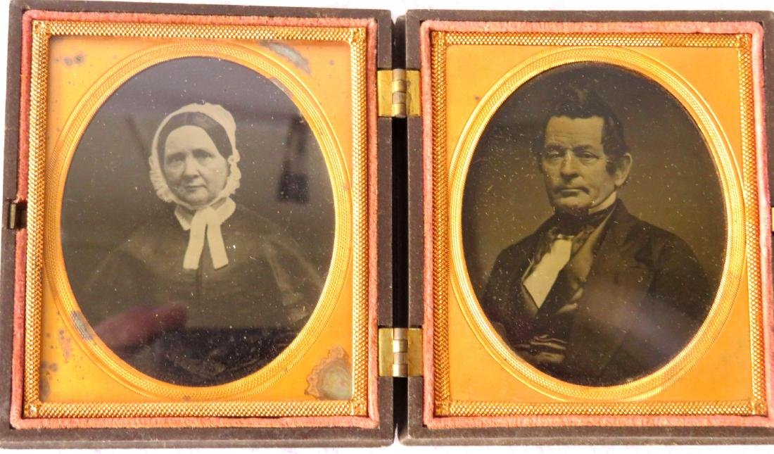 Grouping of 5 cased images including: 1) Ninth plate - 7