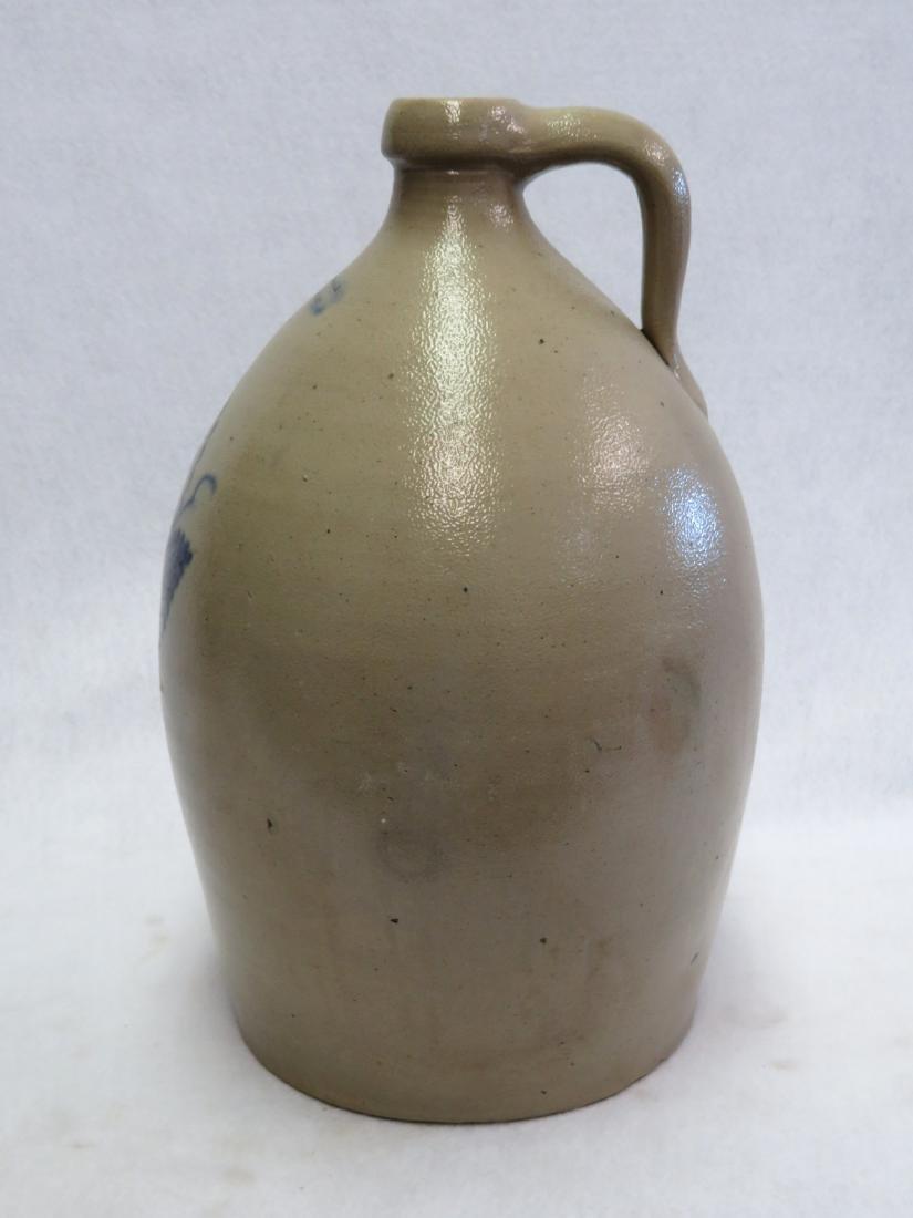 Stoneware 3 gallon jug, slightly ovoid in shape, - 6
