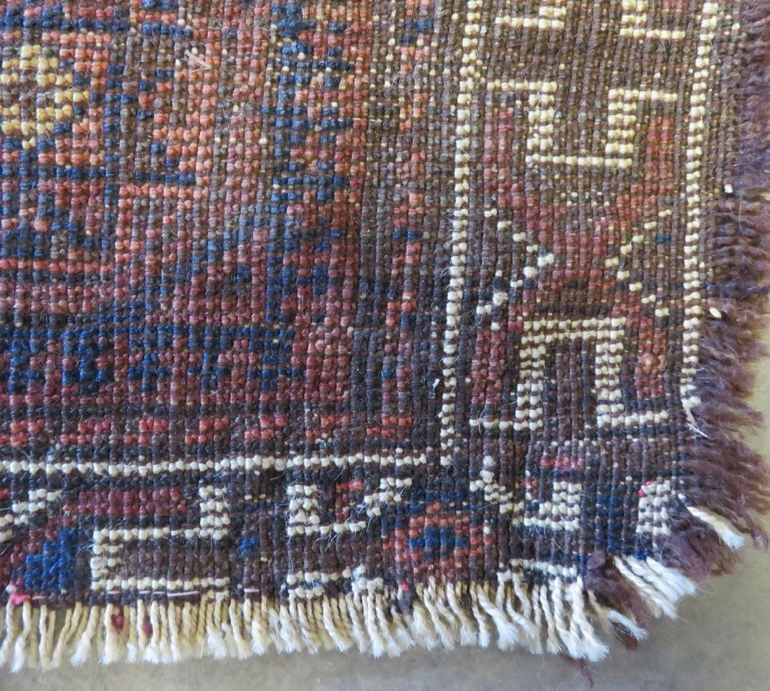 Small Baluch bag face rug, some use wear, but overall - 4