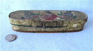 Primitive 19th century Scandinavian hand painted