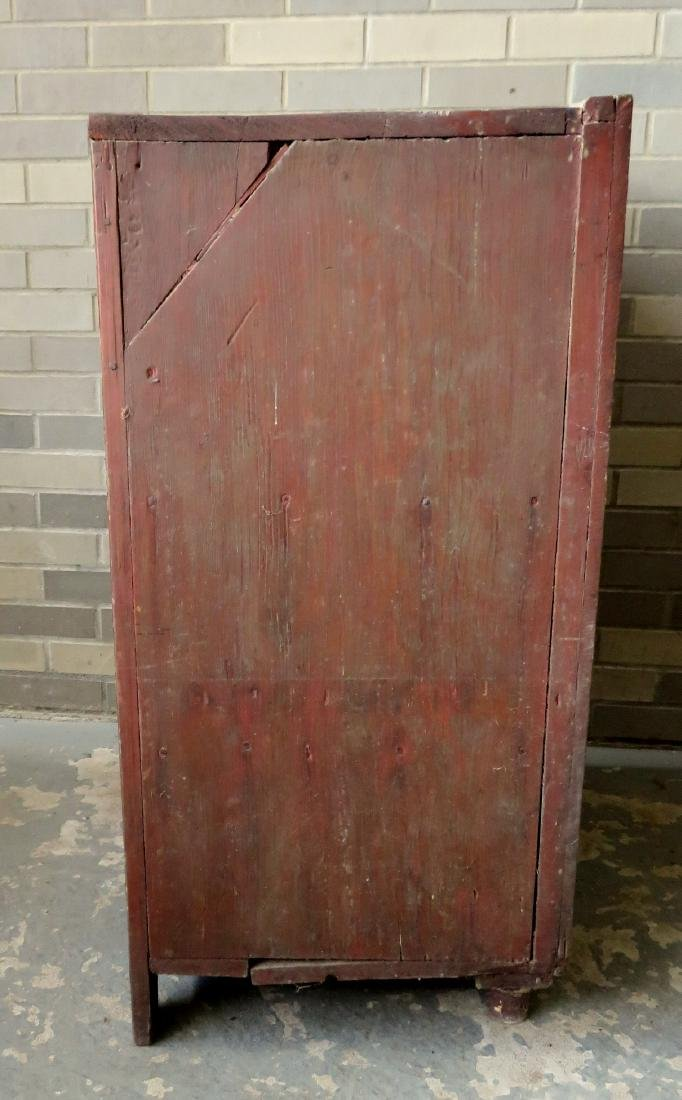 A small single door Hudson Valley floor cupboard with a - 8