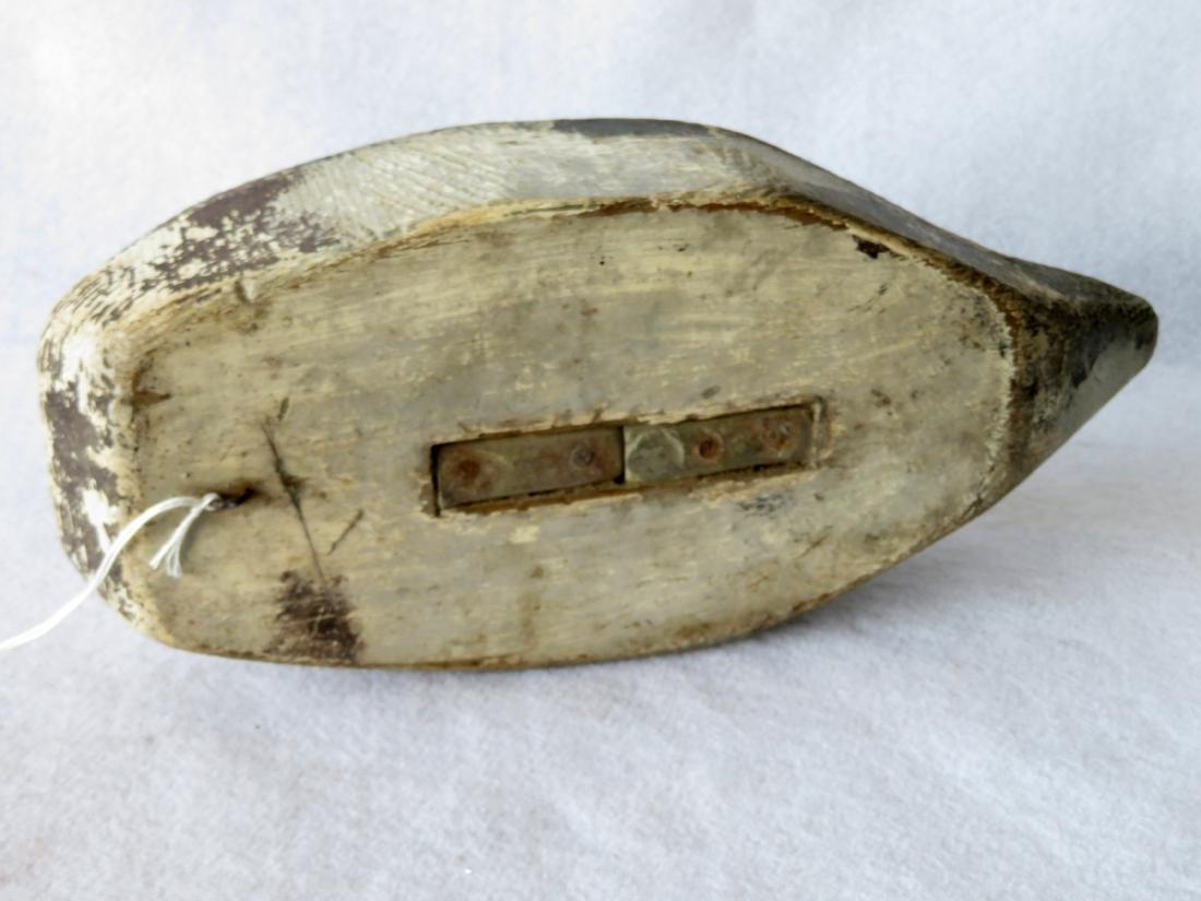Primitive sleeping decoy, Maine origin, in original - 4