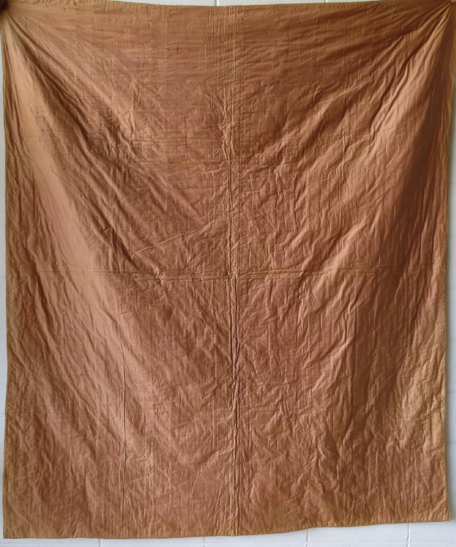 Log cabin pattern patchwork quilt - size xxx - several - 4