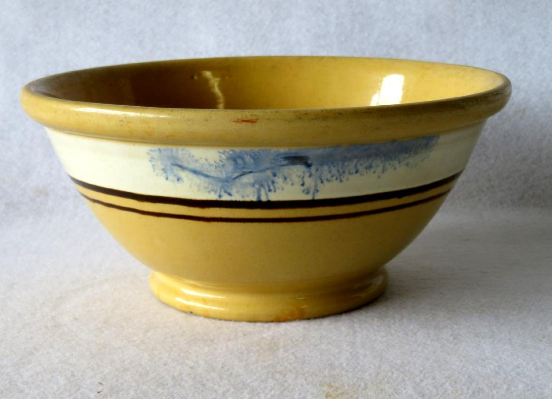 """Mocha bowl with seaweed decorations - 10.25""""D x 4.5"""" - - 2"""