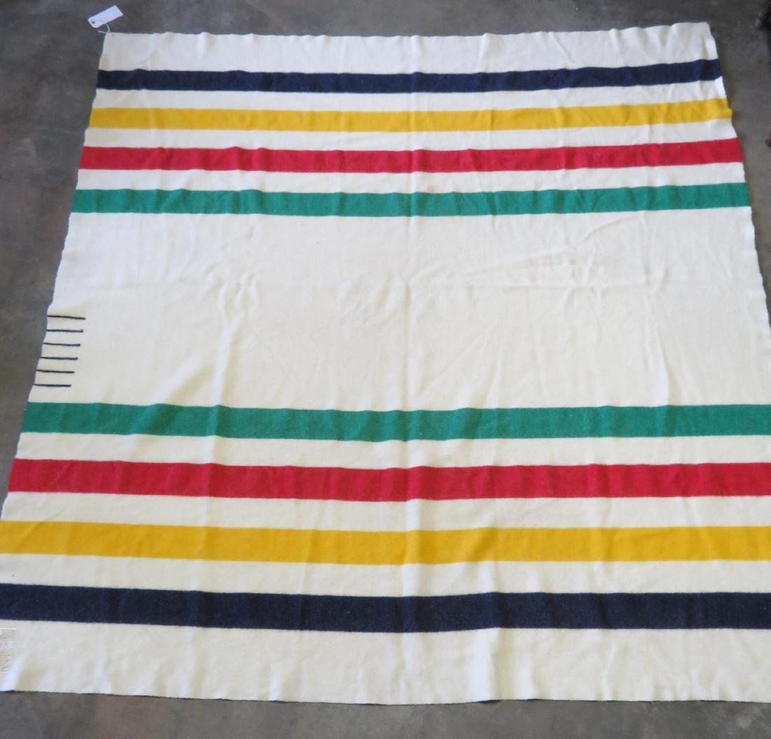 Hudson Bay Point wool blanket, having 6 points, - 4