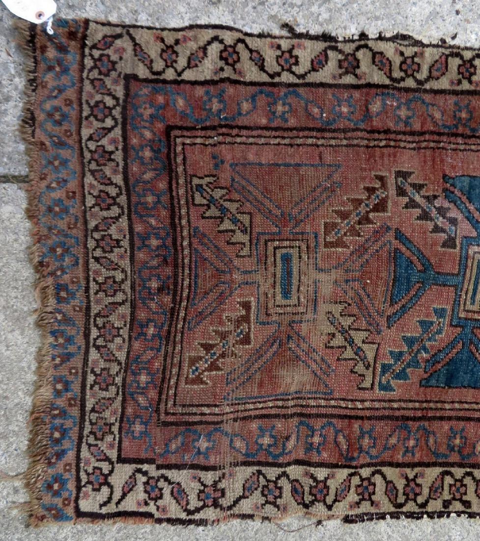 """Oriental rug - runner - 13' 8"""" x 2' 7"""" - 19th century - - 2"""