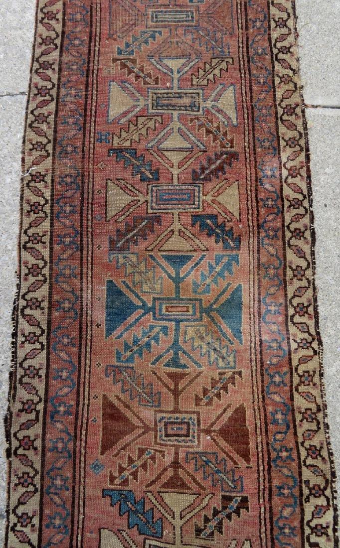 """Oriental rug - runner - 13' 8"""" x 2' 7"""" - 19th century - - 3"""